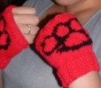 Green Eyed Monsters Knockout Handwarmers